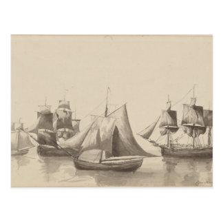 Historia americana - navegación de Halifax Postal