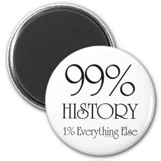 Historia del 99% iman de frigorífico