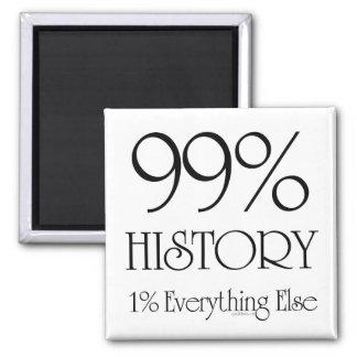 Historia del 99% imanes para frigoríficos