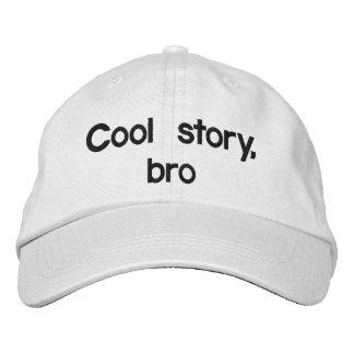 Historia fresca, bro gorras bordadas