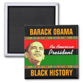Historia negra imán para frigorifico