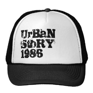 Historia urbana 1986 gorras