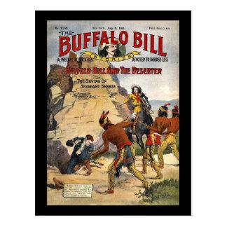 Historias 1910 de Buffalo Bill Postal