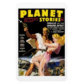 Historias del planeta - imán de las dependencias