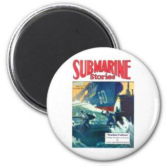 Historias submarinas imán redondo 5 cm