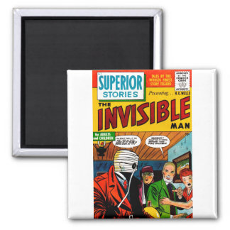 Historias superiores - el hombre invisible imán de nevera