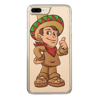 historieta mexicana del niño funda para iPhone 8 plus/7 plus de carved