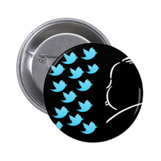 Hitch and Tweets Chapa Redonda 5 Cm