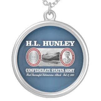 HL de Hunley (CSA) Collar Plateado