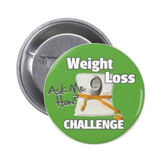 HL de peso del desafío de la pérdida Chapa Redonda De 5 Cm
