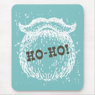 Ho-Ho día de fiesta Santa Noel del navidad Alfombrilla De Ratón