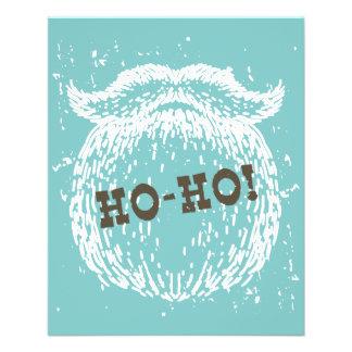 Ho-Ho día de fiesta Santa Noel del navidad Folleto 11,4 X 14,2 Cm