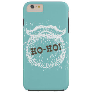 Ho-Ho día de fiesta Santa Noel del navidad Funda Resistente iPhone 6 Plus