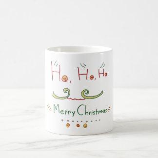 HO HO HO taza de las Felices Navidad
