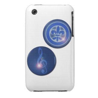 Ho´oponopono Flor de Lis y Clave de Sol Funda Para iPhone 3