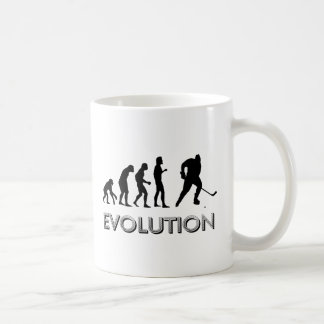 Hockey de la evolución taza de café