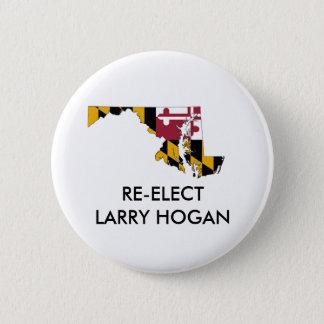 Hogan de Larry para el botón del gobernador de