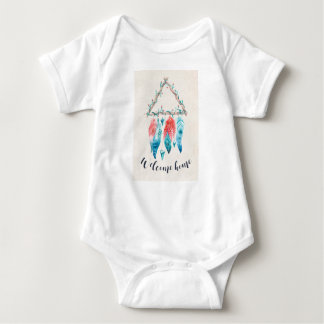 Hogar agradable de las plumas de Dreamcatcher Body Para Bebé
