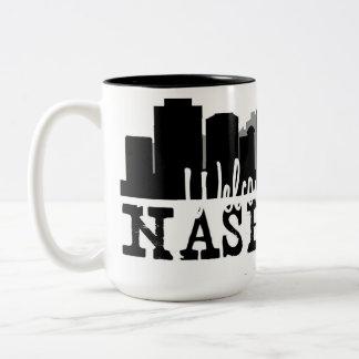 Hogar agradable de Nashville Taza Bicolor