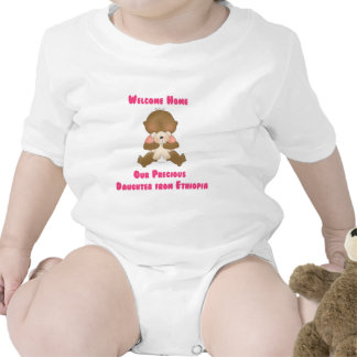 Hogar agradable nuestra hija preciosa trajes de bebé