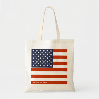 Hogar de la bandera de los E.E.U.U. del bolso