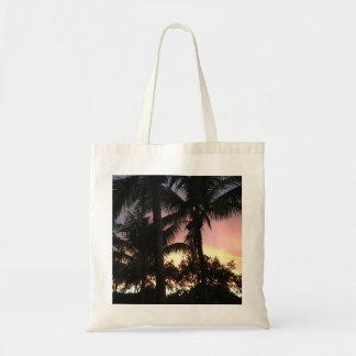 Hogar de la playa bolso de tela
