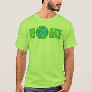 Hogar del Día de la Tierra Camiseta