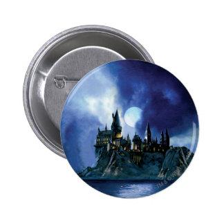 Hogwarts por claro de luna chapa redonda 5 cm
