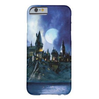 Hogwarts por claro de luna funda de iPhone 6 barely there