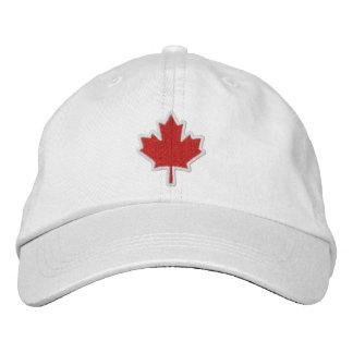 Hoja de arce bordada bordado canadiense gorro bordado