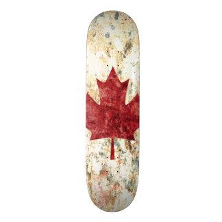 Hoja de arce canadiense monopatines