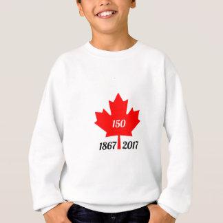 Hoja de arce de Canadá 150 en 2017 Sudadera