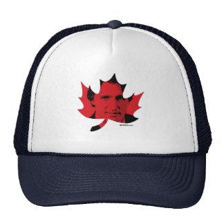 Hoja de arce de Trudeau - rojo - .png Gorros