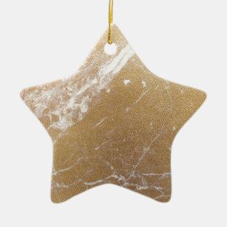 hoja de mármol del oro adorno de cerámica