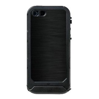 hoja de metal oscura funda para iPhone 5 incipio ATLAS ID