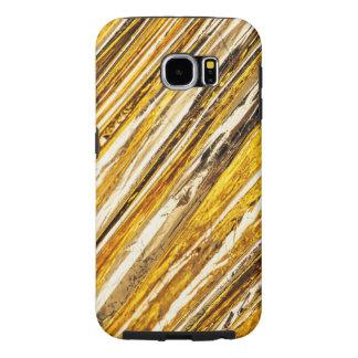 Hoja de oro brillante de Falln Funda Samsung Galaxy S6