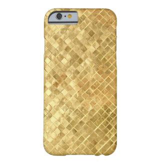 HOJA DE ORO FUNDA DE iPhone 6 BARELY THERE