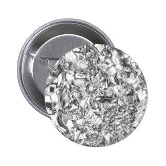 Hoja de plata moderna pins