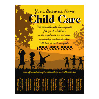 Hoja de rasgón del cuidado de niños del cuidado de
