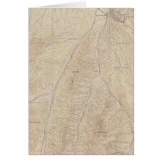 Hoja del atlas de Aspen Tarjeta De Felicitación