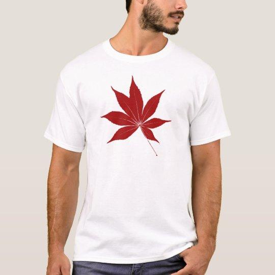 Hoja del castaño de Indias Camiseta