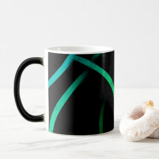 hoja morphing del diseño de la taza