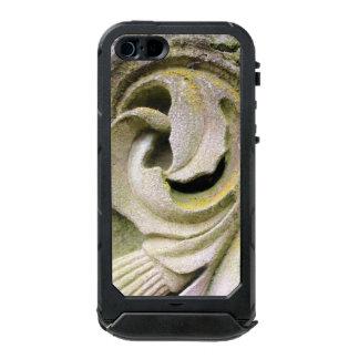 Hojas cubiertas de musgo de la piedra carcasa de iphone 5 incipio atlas id