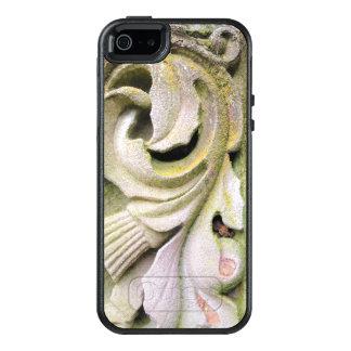 Hojas cubiertas de musgo de la piedra funda otterbox para iPhone 5/5s/SE