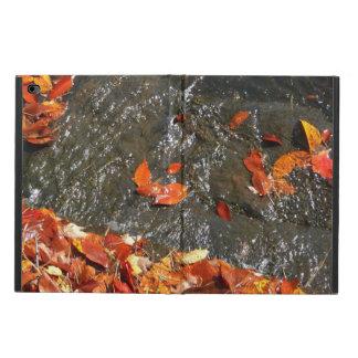 Hojas de la caída en fotografía del otoño de la funda para iPad air 2