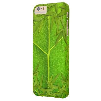 Hojas de la hoja y del bambú funda barely there iPhone 6 plus