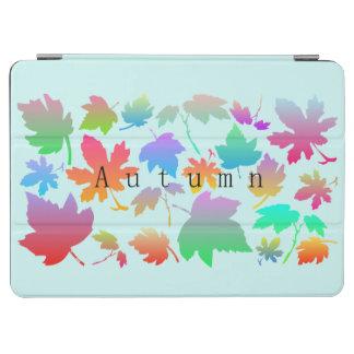 Hojas de otoño coloridas cover de iPad air