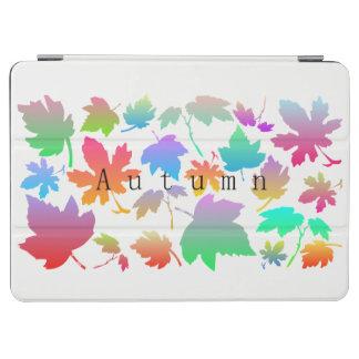 Hojas de otoño coloridas cubierta de iPad air
