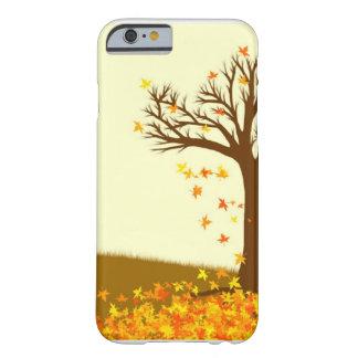 Hojas de otoño funda para iPhone 6 barely there