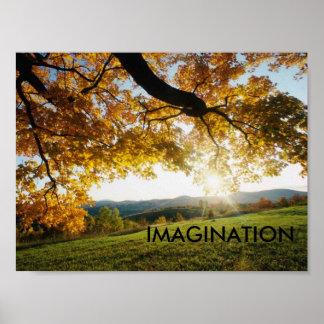 Hojas de otoño IMAGINACIÓN Impresiones